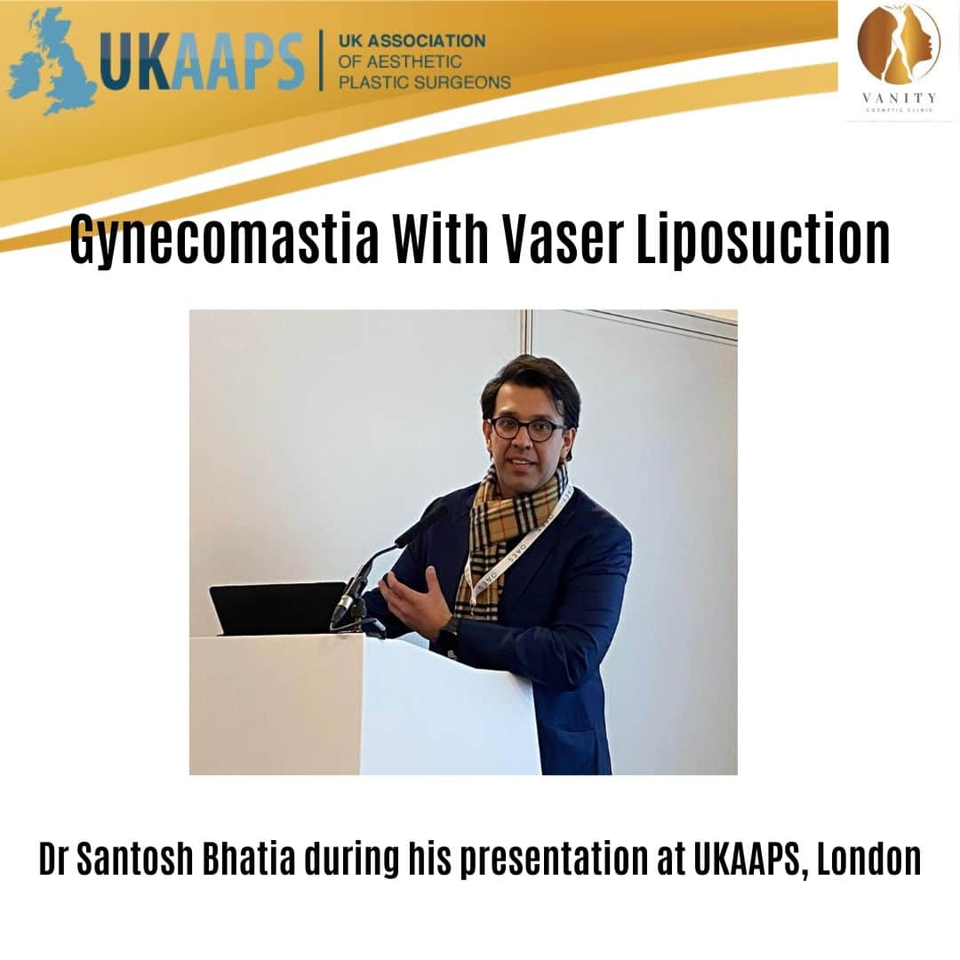 Gynecomastia with Vaser Liposuction